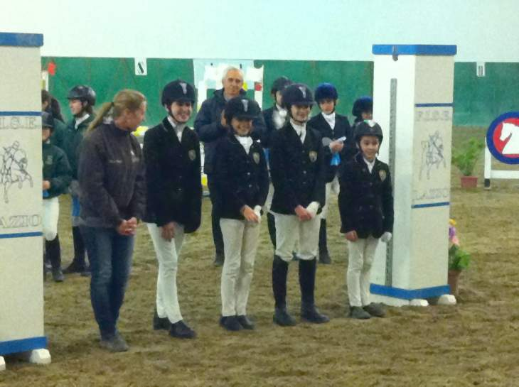 Scuola di equitazione a Roma Equestre Kappa premiazione