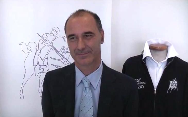 Stefano Bellantonio, presidente dell'a.s. Equestre Kappa