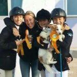 Scuola equitazione Kappa Equestre premizione con istruttore