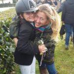 Scuola equitazione Kappa Equestre istruttore con bambino