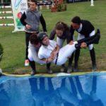 Scuola equitazione Kappa Equestre momento gogliardico