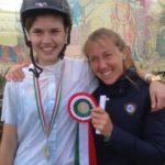 Scuola equitazione Kappa Equestre coccarda vincitore gara