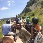Scuola equitazione Kappa Equestre passeggiata a cavallo