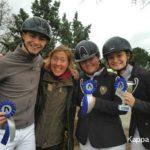 Scuola equitazione Kappa Equestre istruttore con allievi