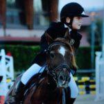 Scuola equitazione Kappa Equestre bambino in gara