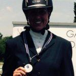 Scuola equitazione Kappa Equestre medaglia vincitrice
