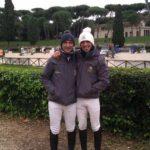 Scuola equitazione Kappa Equestre Stefano Bellantonio con istruttore