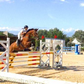 Concorso di equitazione 2019 disciplina salto ad ostacoli al maneggio Kappa Equestre di Roma