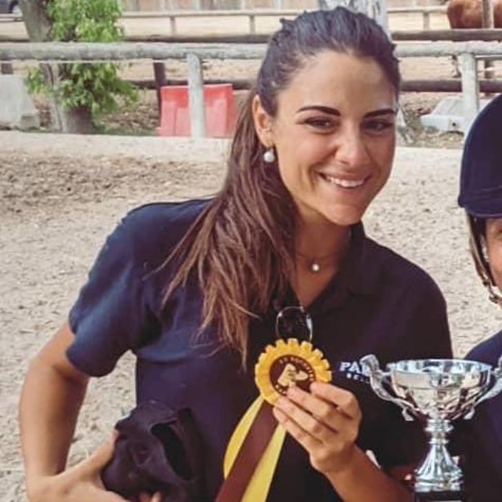 Alessia Maxia: istruttrice equitazione FISE
